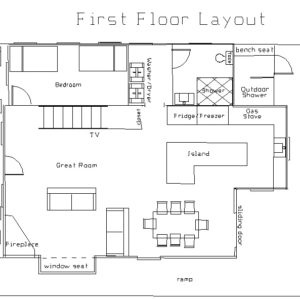 Floor+plan+Ocean+beach+first+floor